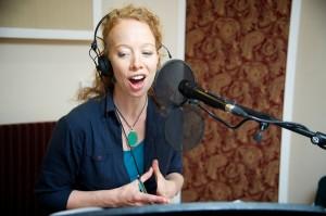 Skyward CD recording, Airlie Scott & Simon Clark